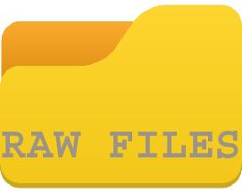 Raw Files